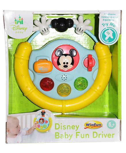 Disney Mickey Baby Fun Driver - Yellow
