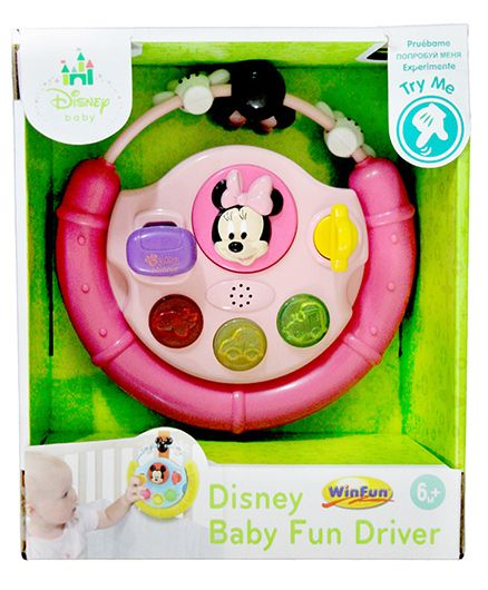 Disney Minnie Baby Fun Driver - Pink