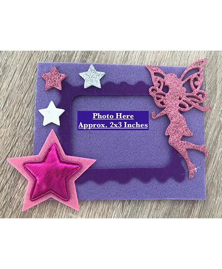 Kalacaree Star Fairy Theme Magnetic Photo Frame - Lavender