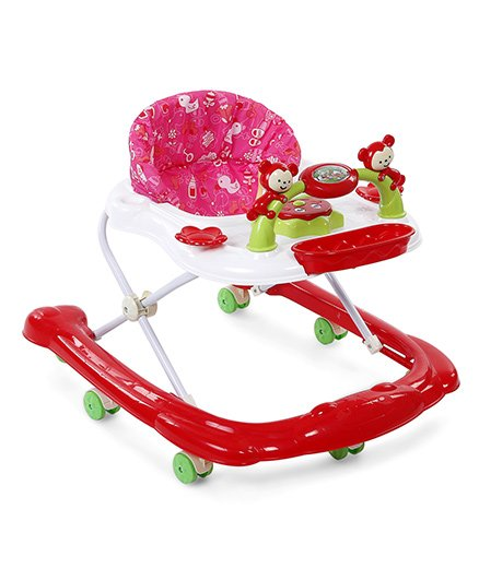 Musical Baby Walker - Red White