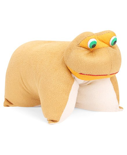 IR Folding Pillow Frog - Brown