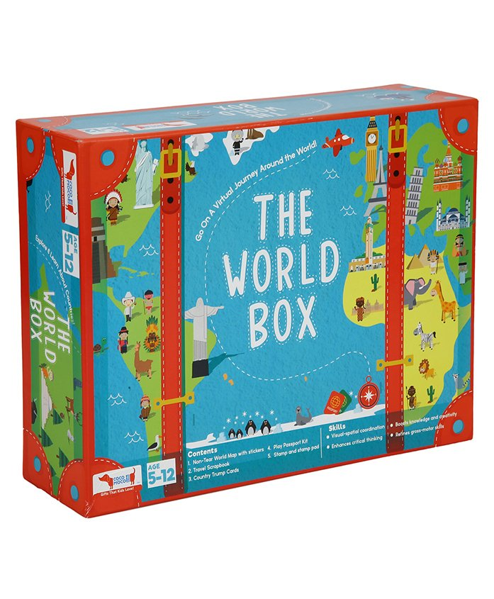 Cocomoco Kids Learn About the World Box