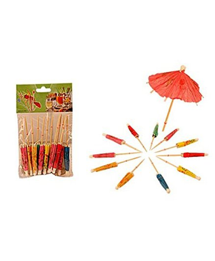 Partymanao Umbrella Toothpick - Pack Of 12