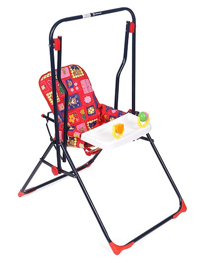 Mothertouch Garden Swing - Red White