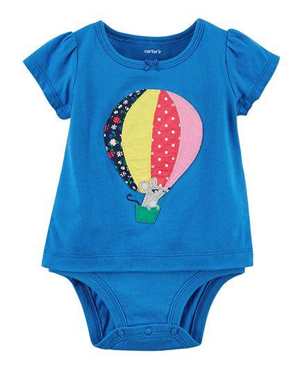 Carters Balloon Double-Decker Bodysuit - Blue