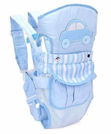 2 Way Baby Carrier Car Patch - Sky Blue