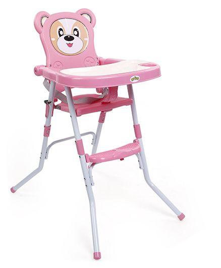 Mi First High Chair Bear Design - Pink