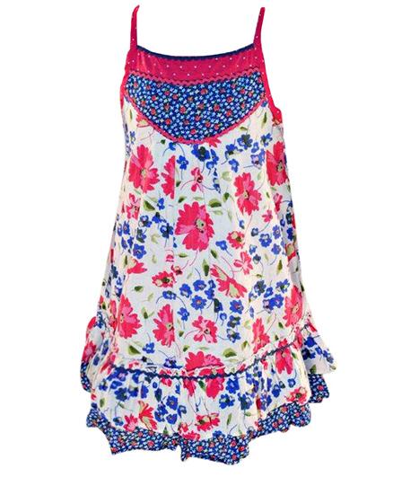 Nauti Nati - Dobby Print Summer Dress
