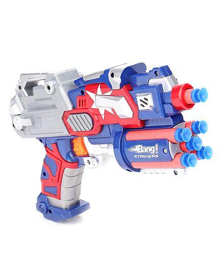 Mitashi Bang Strikers Prinio Toy Gun - Blue