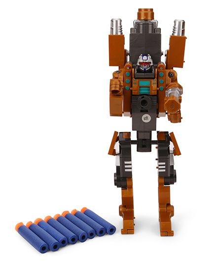TurboS Transforming Robot Blaster Fire Dragon Holy Gun - Brown