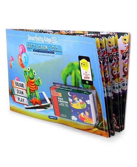 Smartivity Lets Learn 123 Magic Colouring Book - English