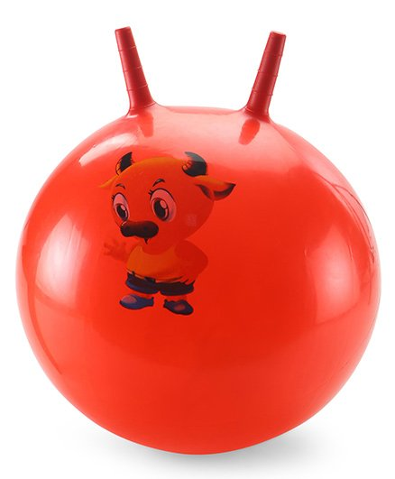 Awals Hopping Ball Printed Small - Red