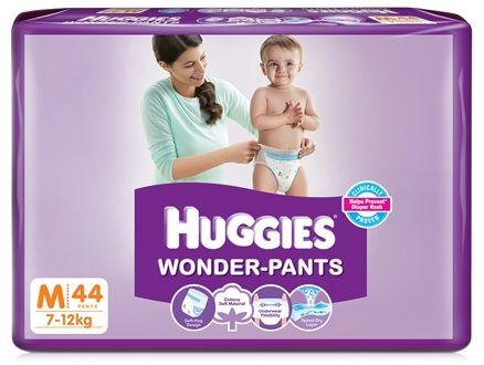 Huggies Wonder Pants Style Baby Daipers, M 44 Pieces