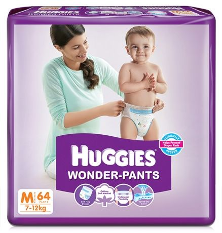 Huggies Wonder Pants Medium - 64 Pieces