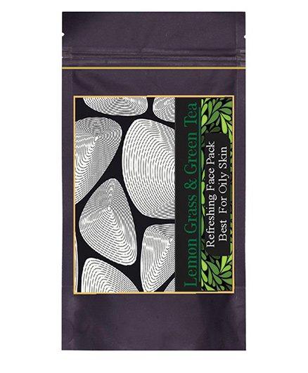 Forest Botanicals Lemon Grass & Green Tea Face Pack - 75 grams