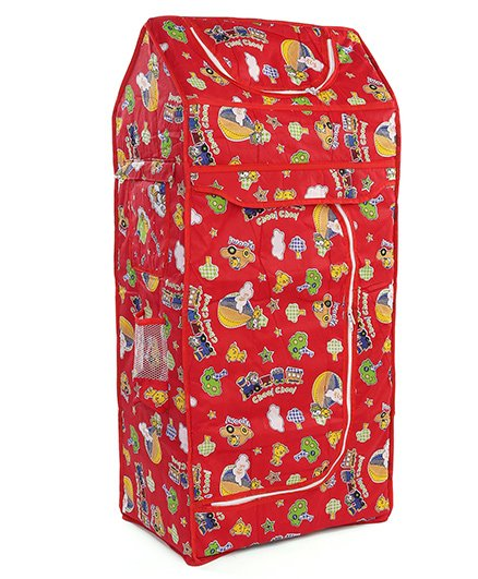 Luvely Almirah Kitty Print - Red