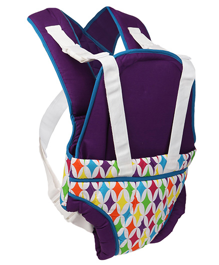 Morisons Baby Dreams 2 Way Baby Carrier - Purple