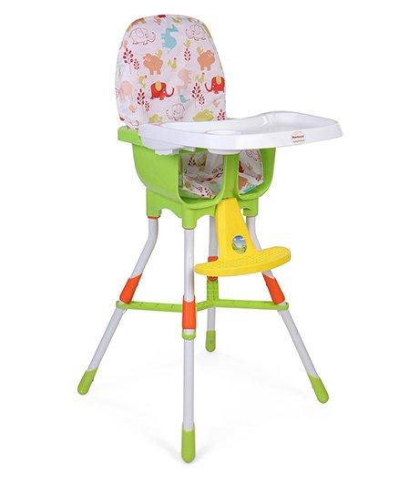 Morisons Baby Dreams Baby High Chair - Green & Multicolor