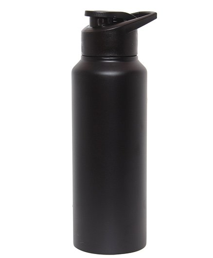 Pexpo Chromo Sipper Bottle Matt Black - 750 ml