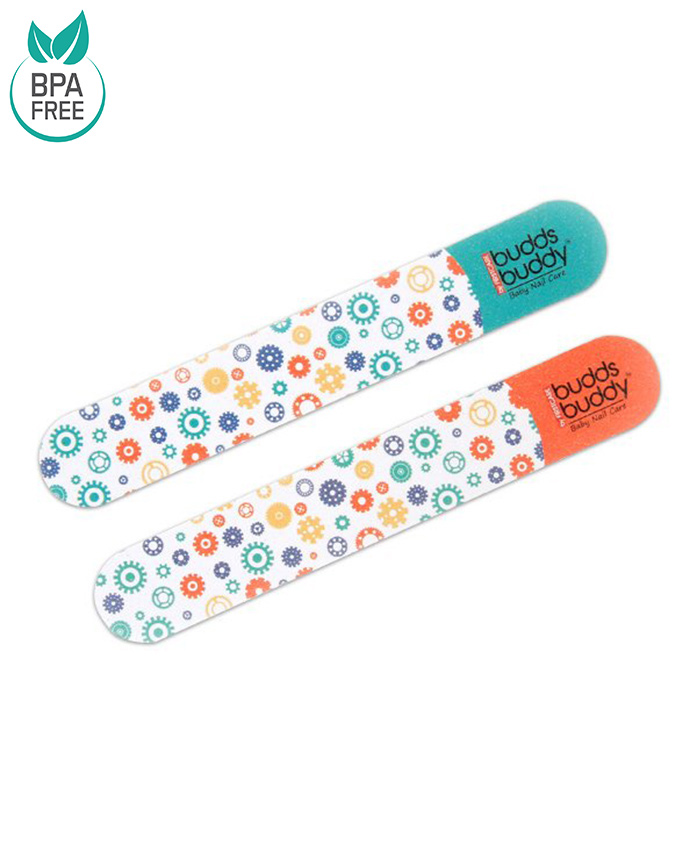 Buddsbuddy Baby Nail Filer - Blue Red
