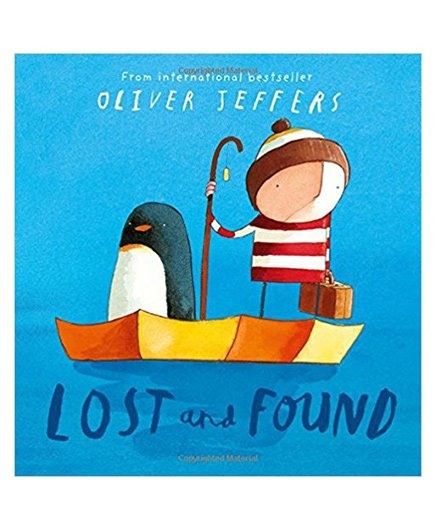 Lost And Found Story Book by Oliver Jeffer - English