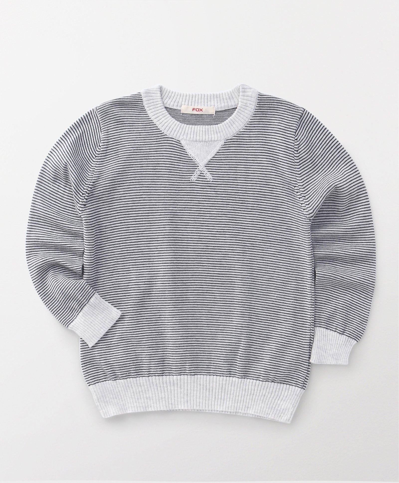 Fox Baby Full Sleeves Sweatshirts - Grey