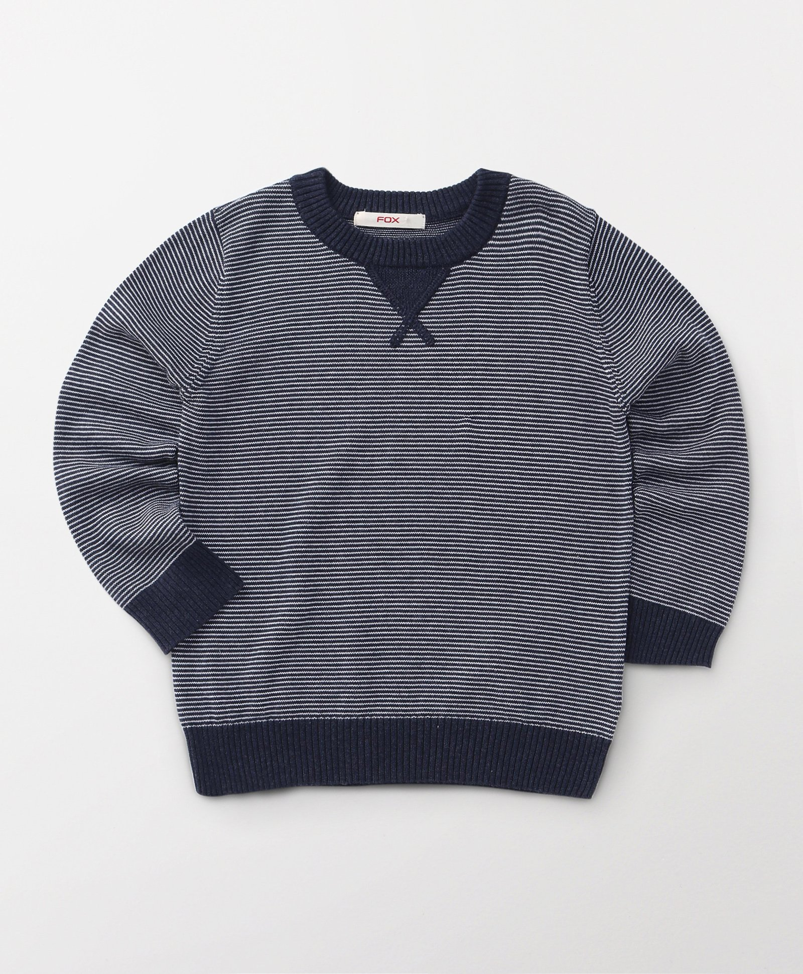 Fox Baby Full Sleeves Sweatshirts - Blue