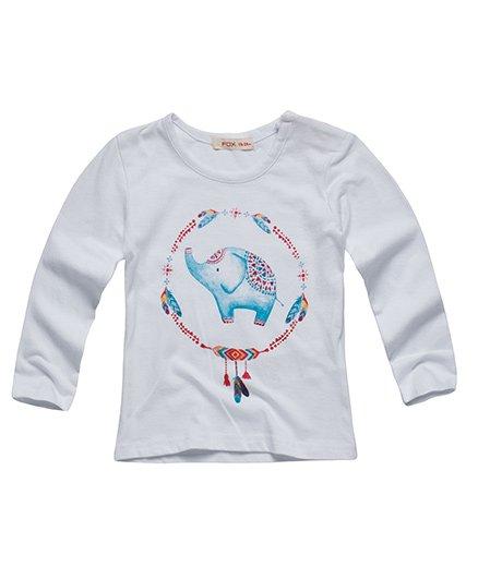 Fox Baby (MRPL) Full Sleeves Tee WHITE 30(3 Y)