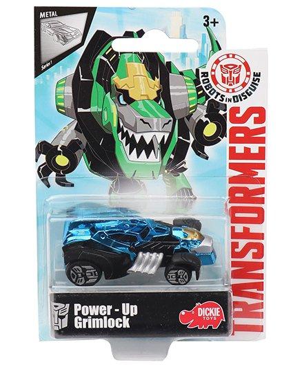 Transformers RID Power Up Grimlock Car - Blue Black