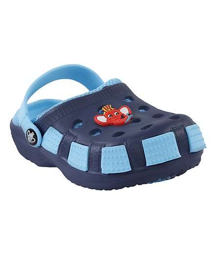 Imagica Clogs Jumbo Head Design - Blue