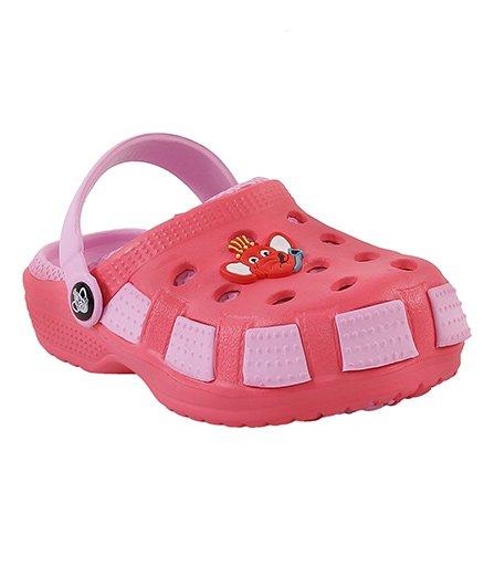 Imagica Clogs Jumbo Head Design - Pink