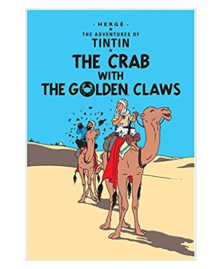 Adventures of Tintin The Crab with Golden Claws - English