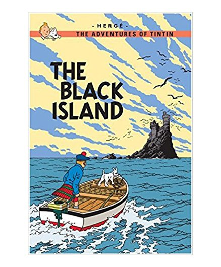 Tintin The Black Island - English