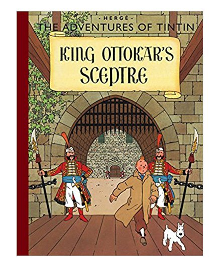 Tintin King Ottokars Sceptre - English