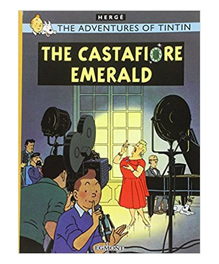 Tintin The Castafiore Emerald - English