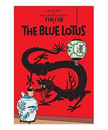Tintin The Blue Lotus - English
