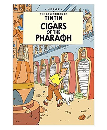 Tintin Cigars of The Pharaoh - English