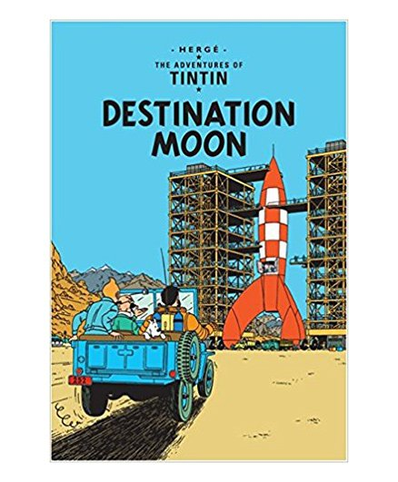 Tintin Destination Moon - English
