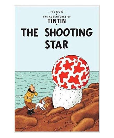 Tintin The Shooting Star Book - English