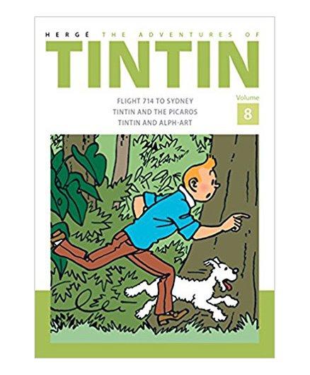 Adventures of Tintin Volume 8 - English