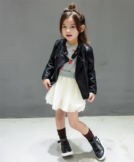 Pre Order - Superfie Stylish Jacket - Black