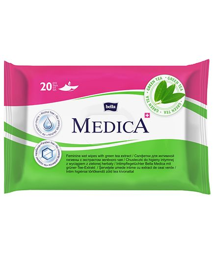 Bella Medica Intimate Care Wet Wipes - 20 Pieces