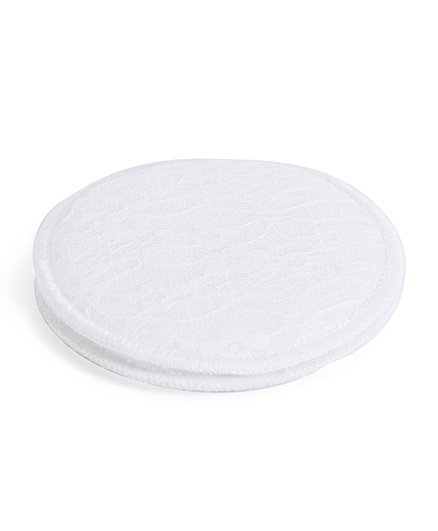 Mee Mee Washable Maternity Nursing Breast Pads White MM-1027 - 2 Pieces