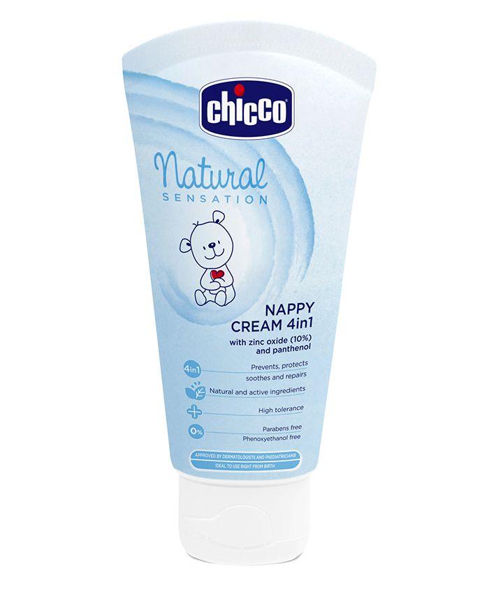 Chicco Natural Sensation 4 in 1 Nappy Cream - 100 ml