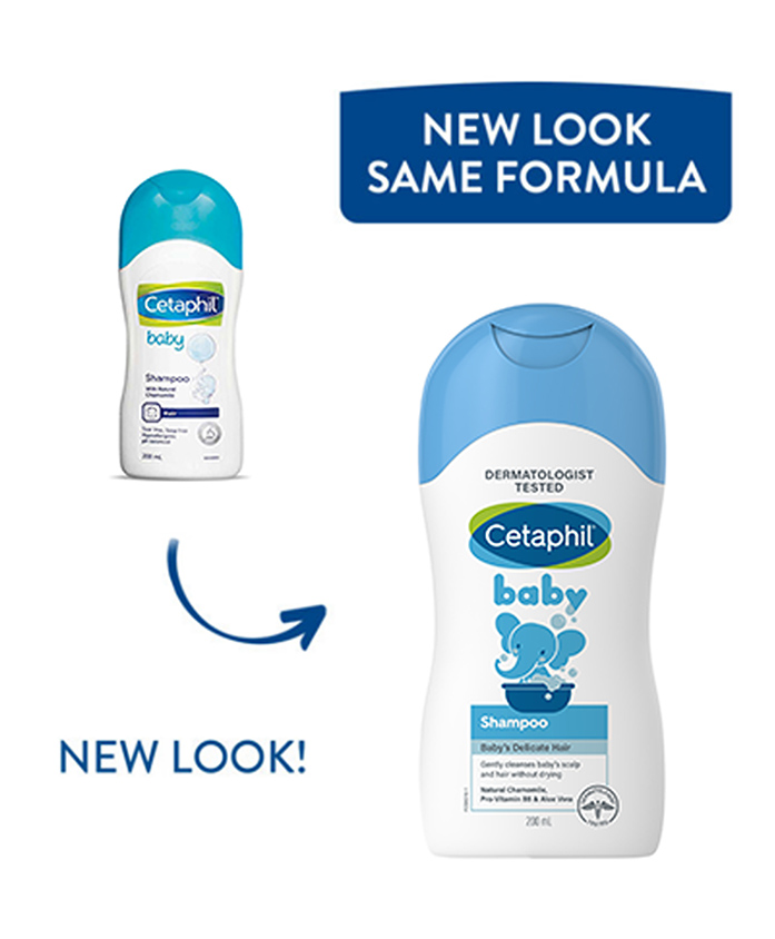Cetaphil Baby Shampoo With Natural Chamomile - 200 ml