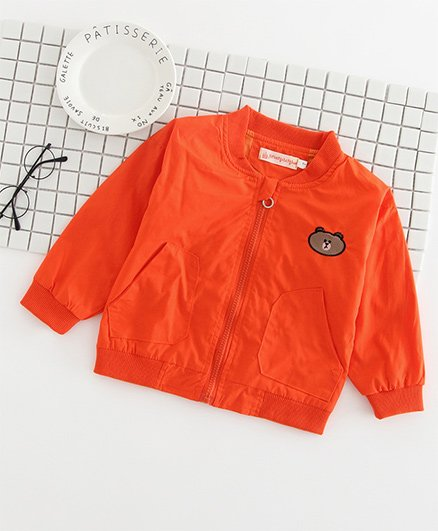 Pre Order - Awabox Teddy Design Jacket - Orange