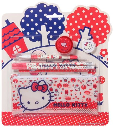 Hello Kitty - Stationery Set