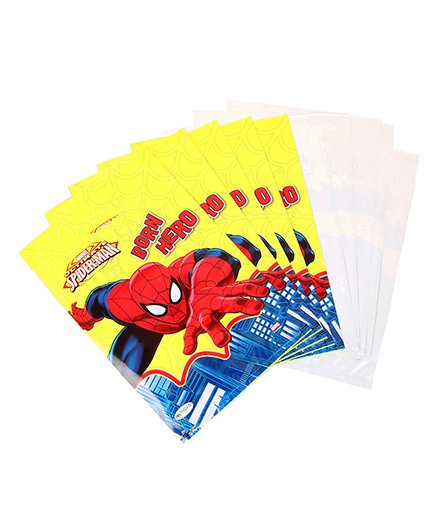 Marvel Amazing Spider Man Small Loot Bags - Pack Of 10