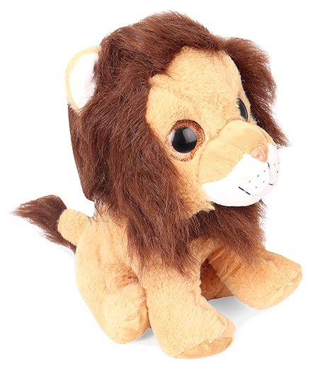 Starwalk Plush Lion Soft Toy Light Brown - 23 cm