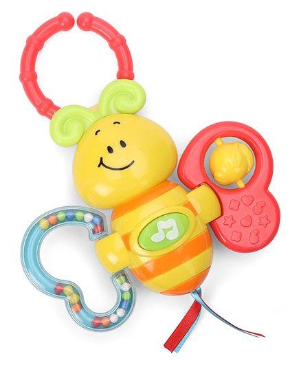 Winfun Light-Up Twisty Rattle - Yellow